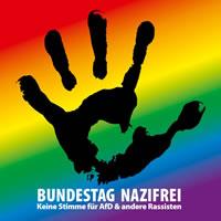 DGB Bochum u.a.: Bundestag nazifrei! Keine Stimme für AfD und andere Rassisten!