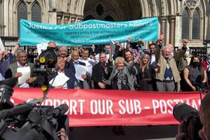 Justice For Subpostmasters Alliance feiert den Sieg über die britische Post