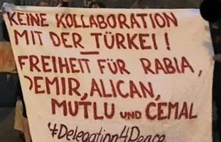Schon wieder Handlanger für Erdogan: Friedensdelegation durch die Bundespolizei an der Ausreise aus Deutschland nach Kurdistan gehindert
