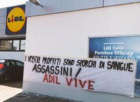 Italien am 18.6.2021: Arbeitgeber und ihre Verbündeten sind für den Mord an Adil verantwortlich