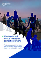 """ILO-Report 2021: """"Making decent work a reality for domestic workers..."""""""