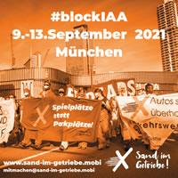 9.-13.9.21: #blockIAA – Autokonzerne entmachten, Klima schützen! Demo & Fahrrad-Sternfahrt zur IAA in München