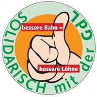 Solidarisch mit dem Arbeitskampf der GDL