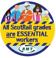 Kampf der schottischen Gewerkschaft RMT bei ScotRail
